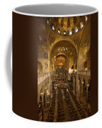 Inside San Marcos Basilica Coffee Mug by Jim Richardson