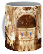 Inside St Louis Cathedral Jackson Square French Quarter New Orleans Diffuse Glow Digital Art Coffee Mug