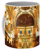 Inside St Louis Cathedral Jackson Square French Quarter New Orleans Digital Art Coffee Mug