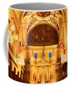 Inside St Louis Cathedral Jackson Square French Quarter New Orleans Film Grain Digital Art Coffee Mug