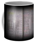 Inspirations 16 John 1 V14 Coffee Mug