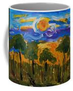 Intense Sky And Landscape Coffee Mug