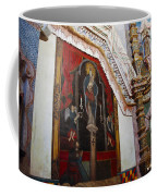 Interior Wall San Xavier Del Bac Mission Coffee Mug