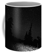 Into The Night Monochrome Coffee Mug