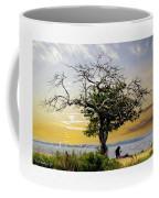Introspective Oil Effect Coffee Mug