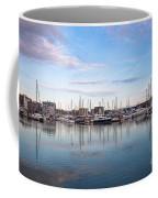Ipswich Marina Dusk Coffee Mug