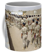 Iraqi Air Force College Cadets March Coffee Mug by Stocktrek Images