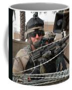 Iraqi And U.s. Soldiers Patrol The Al Coffee Mug