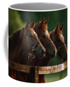 Ireland Thoroughbred Horses Coffee Mug
