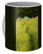 Ireland Trail Through Buttercup Meadow Coffee Mug