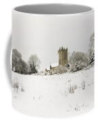 Ireland Winter Landscape With Church Coffee Mug