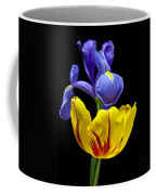 Iris And Tulip Coffee Mug