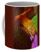 Iris Stamen Macro Coffee Mug