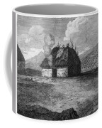 Irish Cabin, 18th Century Coffee Mug