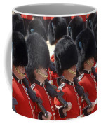 Irish Guards March Pass During The Last Coffee Mug by Andrew Chittock
