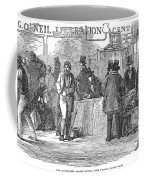 Irish Immigrants, 1851 Coffee Mug