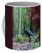 Iron Crane Poses 1 Coffee Mug