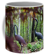 Iron Crane Posing 2 Coffee Mug