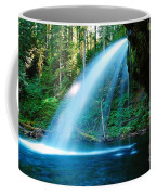 Iron Creek Falls From The Side  Coffee Mug