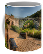 Ironbridge England Coffee Mug by Adrian Evans