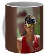 Ironman On The Run Coffee Mug by Bob Christopher
