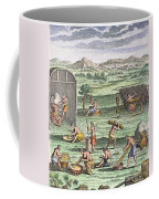 Iroquois Village, 1664 Coffee Mug