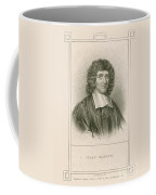 Isaac Barrow, English Mathematician Coffee Mug
