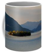 Island And Mountain Coffee Mug