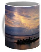 Island At Sunset Coffee Mug