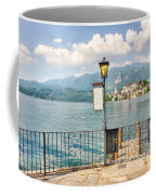 Island San Giulio On Lake Orta Coffee Mug