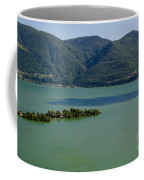 Islands On An Alpine Lake With A Shadow Coffee Mug