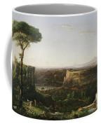 Italian Scene Composition Coffee Mug by Thomas Cole