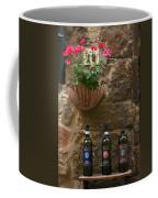 Italian Wine And Flowers Coffee Mug
