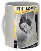 It's Love Coffee Mug by Mel Thompson