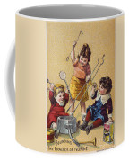 Ivorine Trade Card, C1880 Coffee Mug