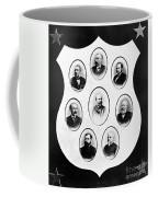 J.a. Garfield: Cabinet Coffee Mug