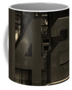 Jackie Robinson 42 In Sepia Coffee Mug