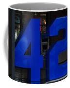 Jackie Robinson 42 Coffee Mug by Rob Hans