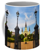 Jackson Square In New Orleans Coffee Mug