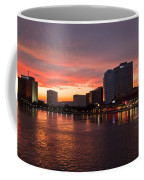 Jacksonville Skyline Night Coffee Mug