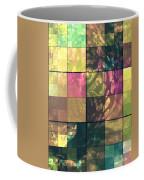 Jaguar Geo Pink And Green Coffee Mug