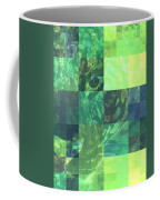 Jaguar Graph Geo Green Coffee Mug