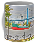 James M Schoonmaker And The Hi-level Bridge Coffee Mug