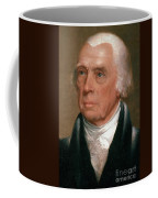 James Madison, 4th American President Coffee Mug by Photo Researchers