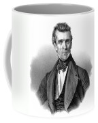 James Polk, 11th American President Coffee Mug by Photo Researchers