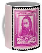 James Russell Lowell Postage Stamp Coffee Mug