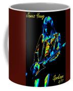 James Young In Spokane 1977 Coffee Mug