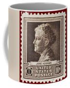 Jane Addams Postage Stamp Coffee Mug