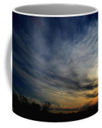 January Sunset 2012 Coffee Mug