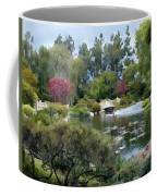 Japanese Garden Panorama 1 Coffee Mug